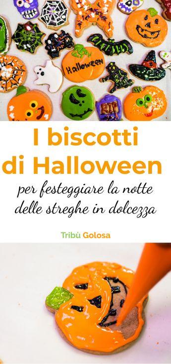 I biscotti di Halloween per festeggiare la notte delle streghe in dolcezza