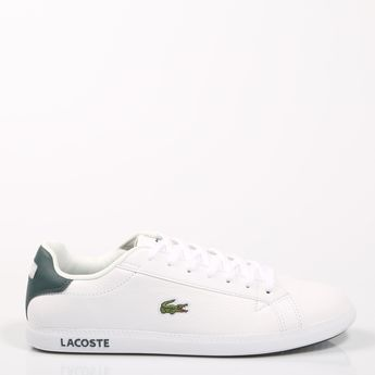 e48127d29a4466 Men s Lacoste Graduate LCR3 Sneaker  Dark Blue Leather Synt