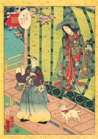 The Life of Cats in Historic Japanese Woodblock Prints