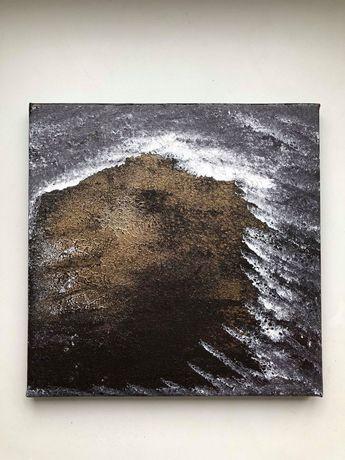 Peinture à l'huile, 40/40cm