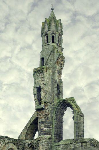 Cathédrale de saint andrews, écosse