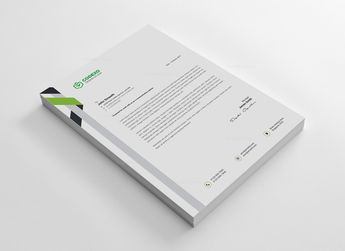 Creative Letterhead Design 002736 - Template Catalog