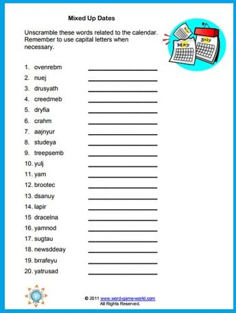 At the Zoo word scramble : Printables for Kids – free word