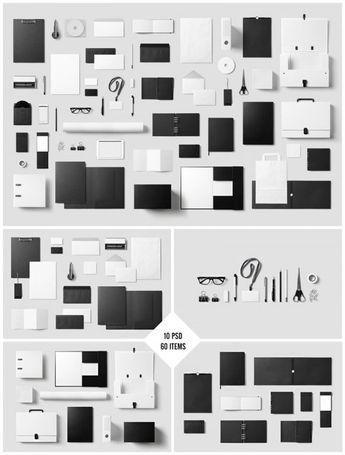 The Corporate Stationery Mock-Up Set by forgraphic™