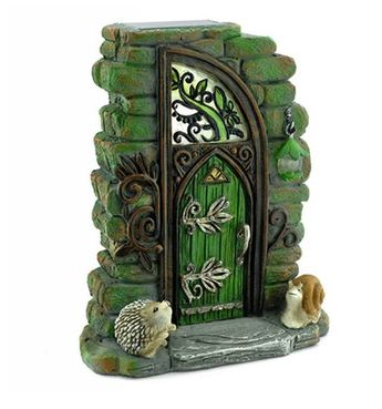 Erin Green Solar Fairy Door
