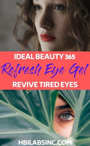 Ideal Beauty 365 Refresh Eye Gel: Revive Tired Eyes