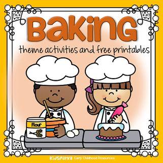 Baking theme activities for preschool and kindergarten