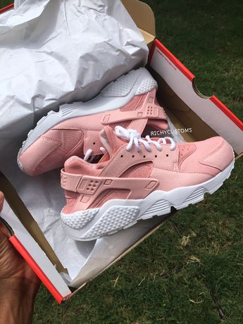 Image of SOLID Custom Light Pink Huaraches - White Sole
