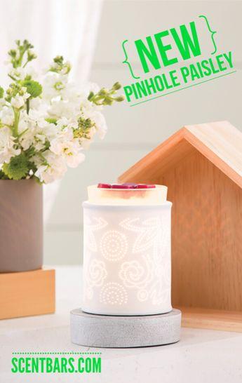 Pinhole Paisley Scentsy