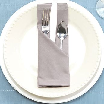 How to Fold a Napkin Pocket