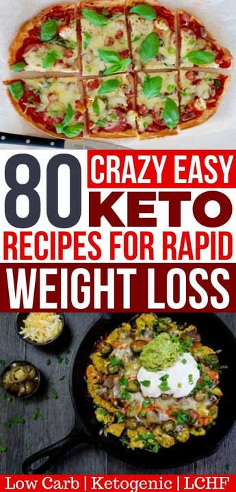 80 Easy Keto Recipes For Your Ketogenic Diet