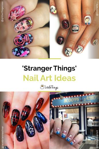 'Stranger Things' Nail Art: The ending of Stranger Things season three took us for a roller-coaster ride before leaving us all in distress and begging for more. But instead of sitting at home sulking, fans of the show have chosen to take to Instagram to revel at nail art inspired by the Netflix hit.