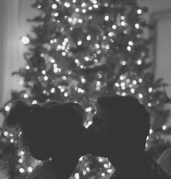 "I want a pic of us like this for our ""first"" Christmas like first one in our own place together"