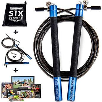 Set of 6 9 Feet Sportime Adjustable Length Jump Ropes