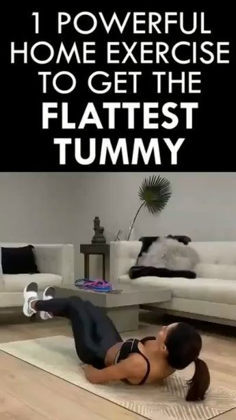 6 Best Stomach Exercises For a Flat Tummy At Home