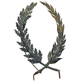 Bronze and Iron Wreath