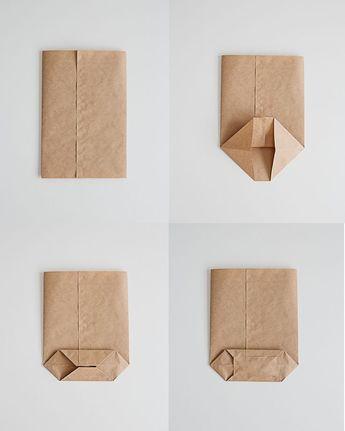 DIY Brush Lettered Gift Bags - Stéfanie Bourgeois