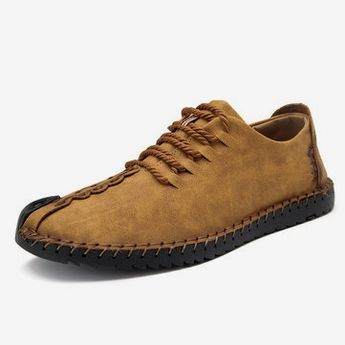 Men British Style Retro Stiching Casual Shoes   #fitness #technology #travel family pictures, family portraits, family room