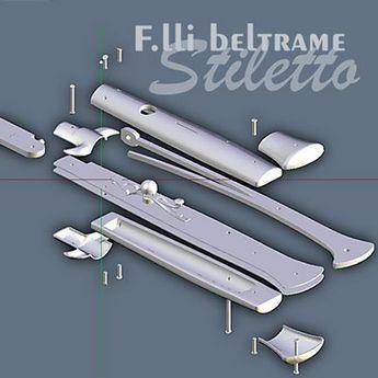Automatyczne urządzenie flick nóż typu włoski zgłębników f (schemat)