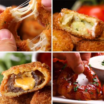 Ultimate Onion Rings 4 Ways