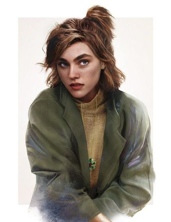 """These Illustrations Of What """"Anastasia"""" Looks Like IRL Are Breathtaking"""