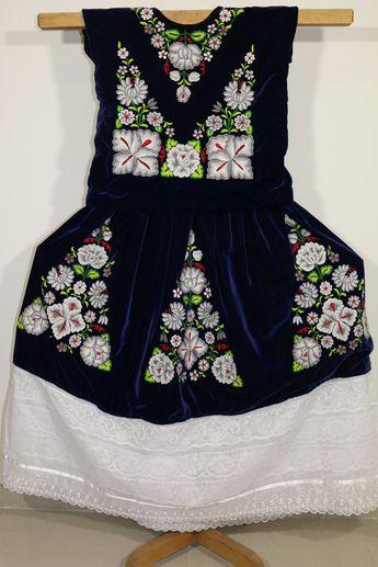 Frida Vestido Elegante Poncho Mexicano Terciopelo Negro