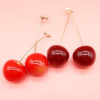 Retro Cherry Dangles