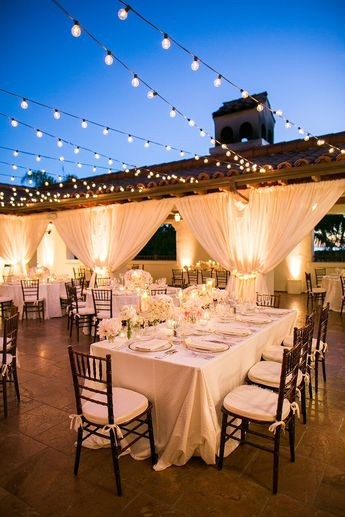 Dreamy White and Blush California Wedding at Bacara Resort