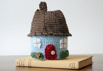 Crocheted House