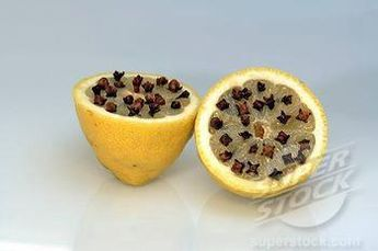 Keep wasps and bees away this summer. Put about 10 cloves in 1/2 a lemon and set out. They do not like the scent. Cut off the ends so they sit flat.