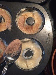 Amish Cinnamon Baked Donuts