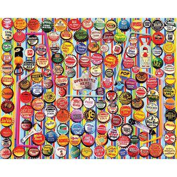 Soda Caps 1000 Piece Puzzle