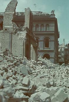 Zerstörungen in Wuppertal (Nordrhein-Westfalen) 1943