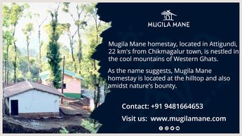 #Mugilamane homestay is an ideal place to head, if you want to enjoy the beauty of nature but still want to indulge in luxury!!  Homestay in #Chikmagalur | #Weekend Gateway from Bangalore | Homestay Amidst Coffee estate Contact :+91 9481664653 Visit us :www.mugilamane.com Mail us :homestay@mugilamane.com