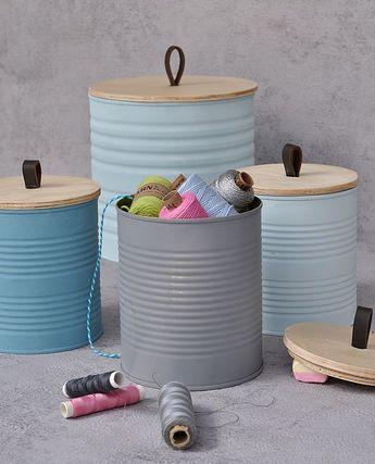DIY Dosen Upcycling - Schön und nachhaltig