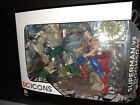 DC Icons Collectibles The Death of Superman Vs Doomsday #Figure