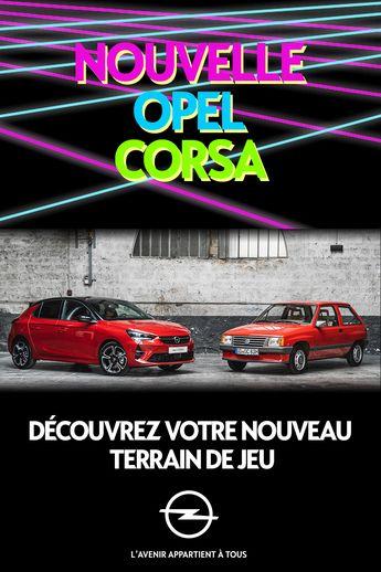 La nouvelle Opel Corsa est fascinante : Design affirmé, Innovations technologiques, Phares Matrix LED Intellilux … Le plus passionnant c'est de la conduire !