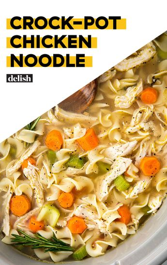 Crock-Pot Chicken Noodle Will Warm Up Your Whole Crew