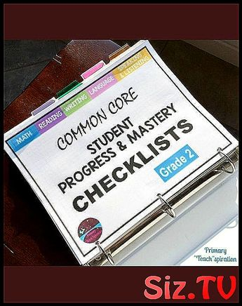 Tracking Student Progress and Mastery Easily organ #2nd #checklist #class #Common #core #Easily #education_primary_common_cores #ELA #FREE #Grade #mastery #Math #organize #post #progress #read #Standards #Student #track #tracking
