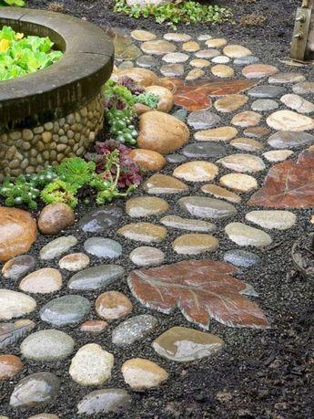 15 Impressive DIY Garden Pathway Ideas For Your Garden — Design & Decorating