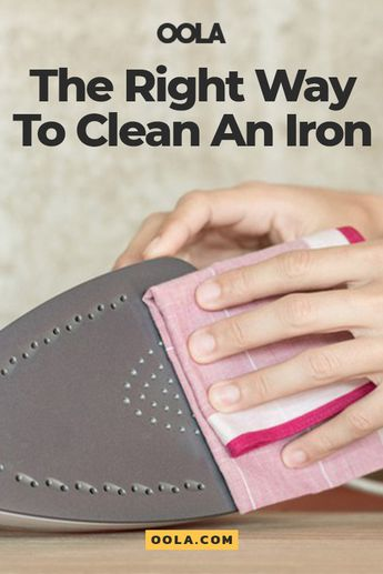 How To Clean An Iron The Right Way