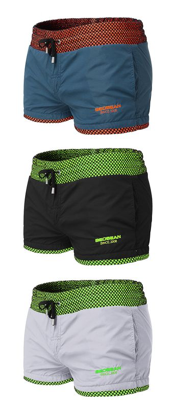 UP TO 55% OFF!!  Beach Quickly Dry Breathable Loose Swim Board Shorts for Men #swimwear #swimsuit #swimming