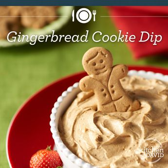 Gingerbread Dip This Sunday! What's Your Signature Holiday Dip?