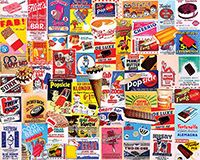 Ice Cream Bars  - 1000 Piece Puzzle -White Mountain Puzzles