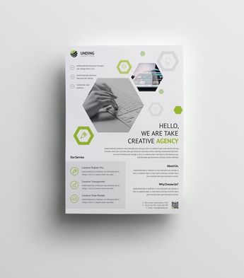 Hydra Elegant Premium Business Flyer Template - Graphic Templates
