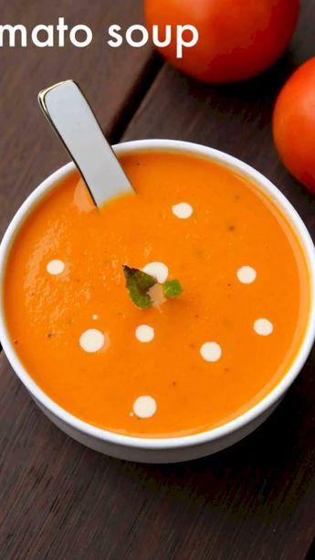 Tomato soup recipe | cream of tomato soup | tomatoe soup