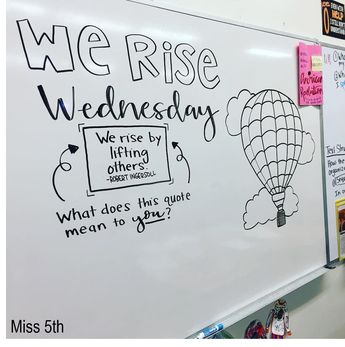 "Hi, friends! I've had quite a few people ask me about my whiteboard messages that I use in my classroom, so I thought, ""Why not make a blog ..."