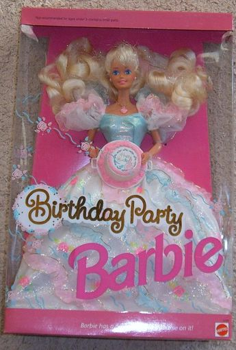 I believe this is the barbie I got on my 5th birthday...