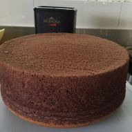 Chocolate Sponge cake (cooked dough method)