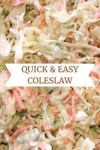Simple, Delicious Coleslaw Recipe